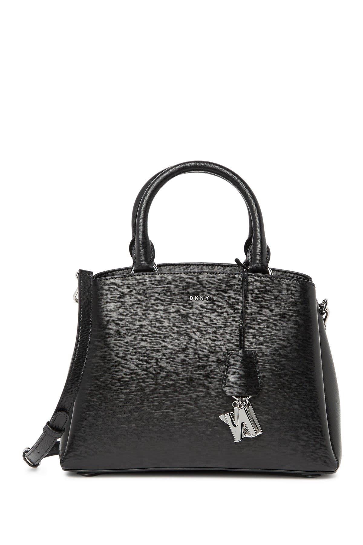 Image of DKNY Paige Medium Leather Satchel