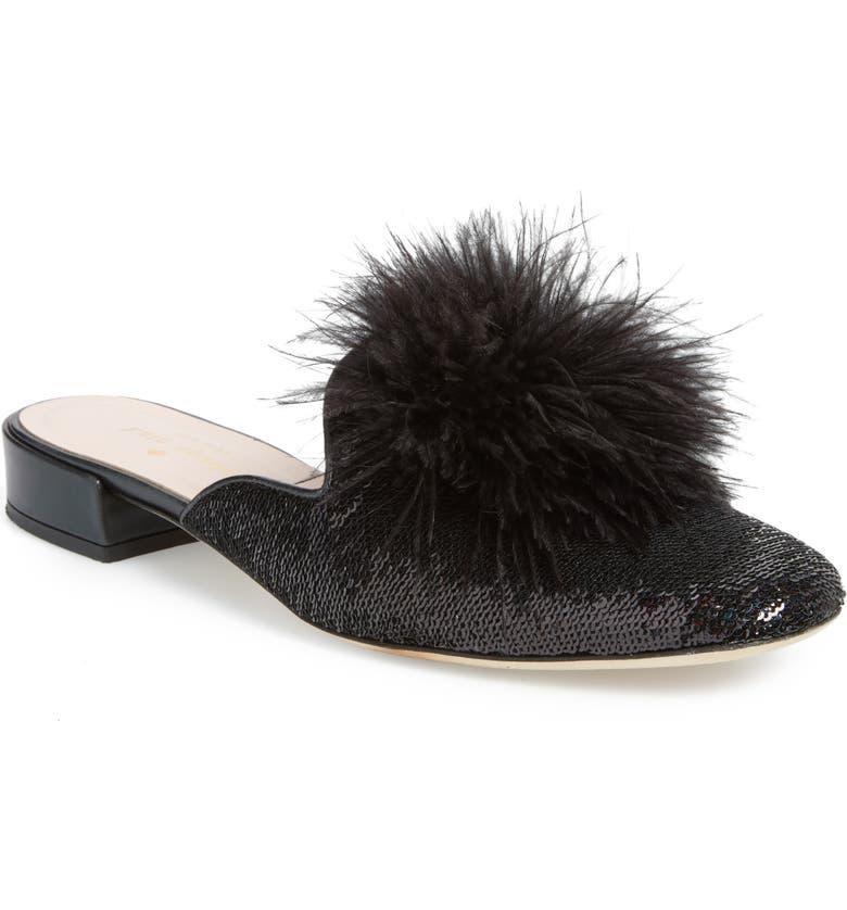 KATE SPADE NEW YORK gala mule loafer, Main, color, 002