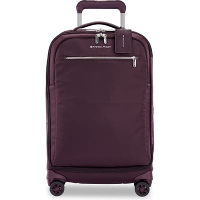 Briggs & Riley Spinner 22-Inch Carry-On - Purple