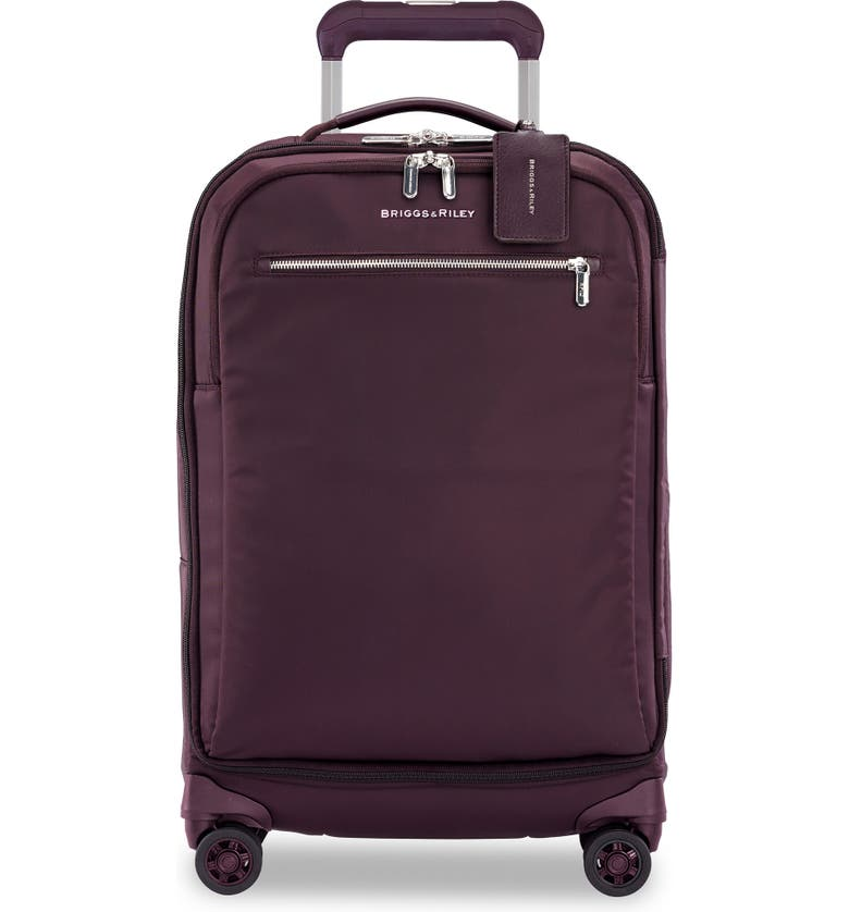 BRIGGS & RILEY Spinner 22-Inch Carry-On, Main, color, PLUM