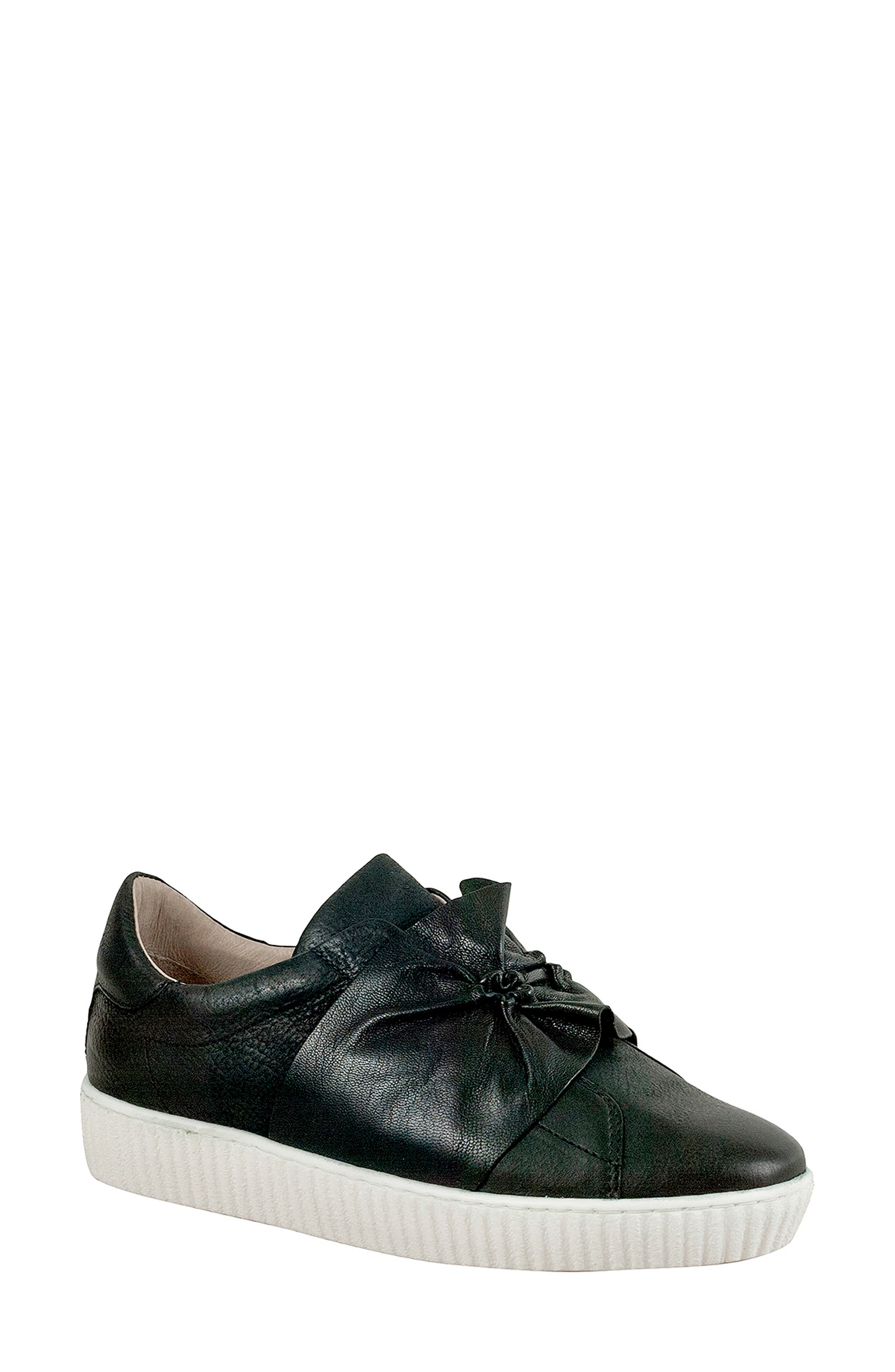 Miz Mooz Orbit Slip-On Sneaker, Black