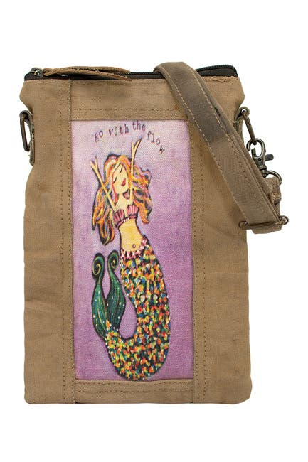 Image of Vintage Addiction Go With The Flow Mermaid Tent Crossbody