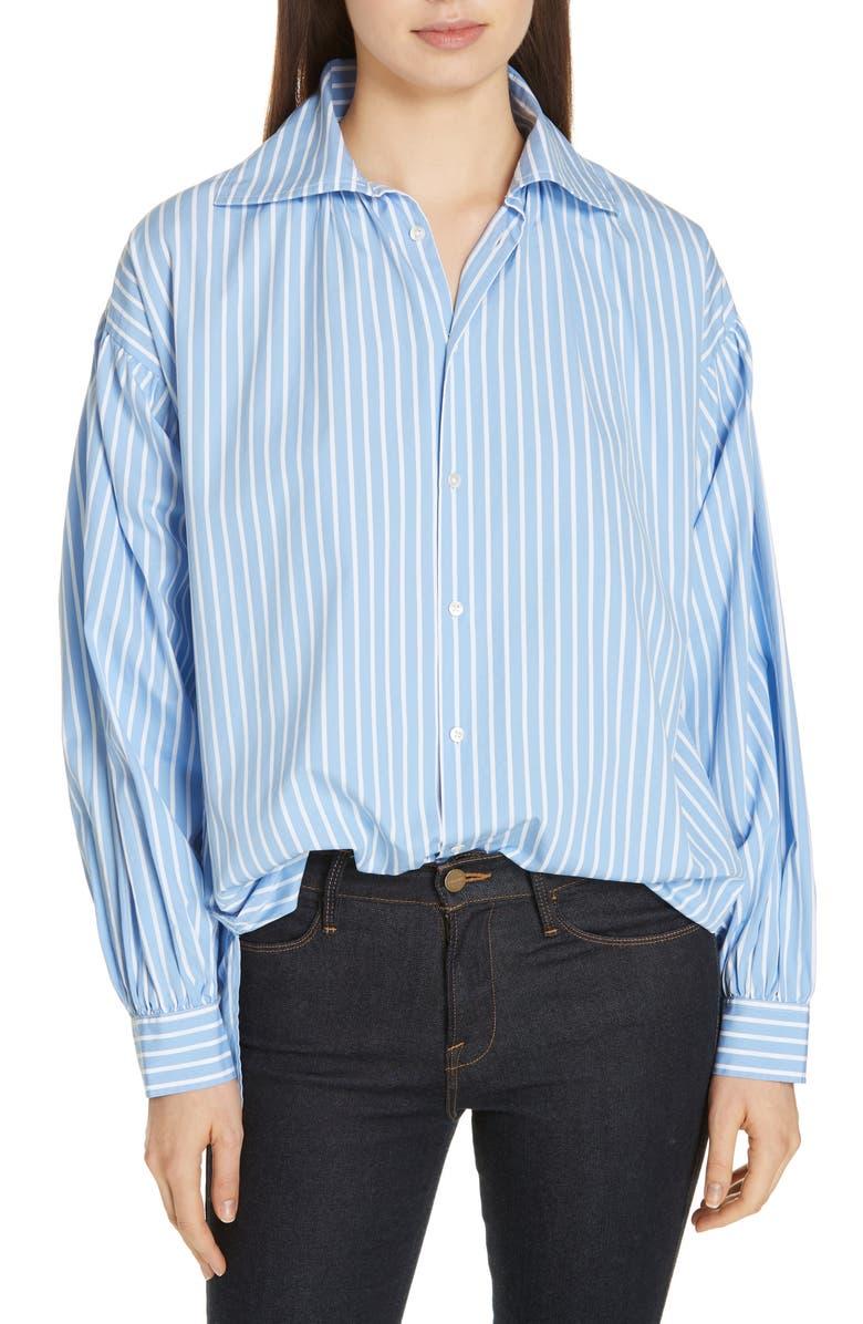 POLO RALPH LAUREN Stripe Shirt, Main, color, 400
