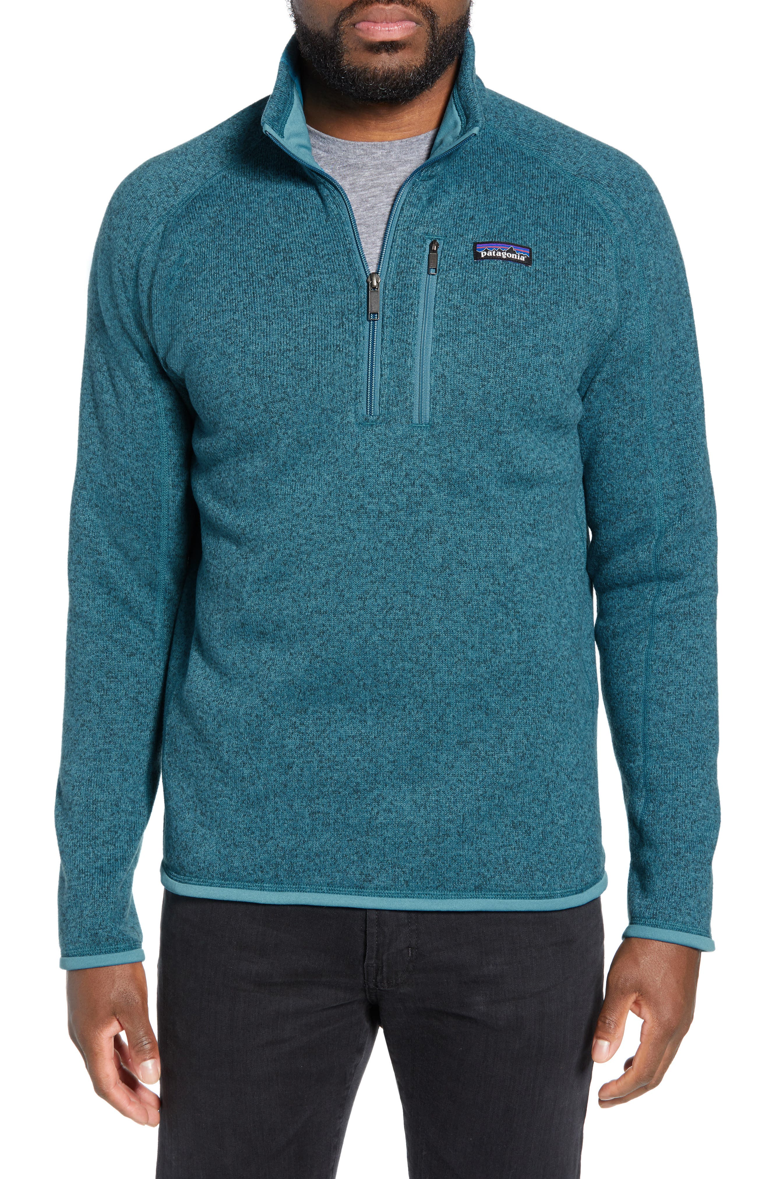 ,                             Better Sweater Quarter Zip Pullover,                             Main thumbnail 71, color,                             411