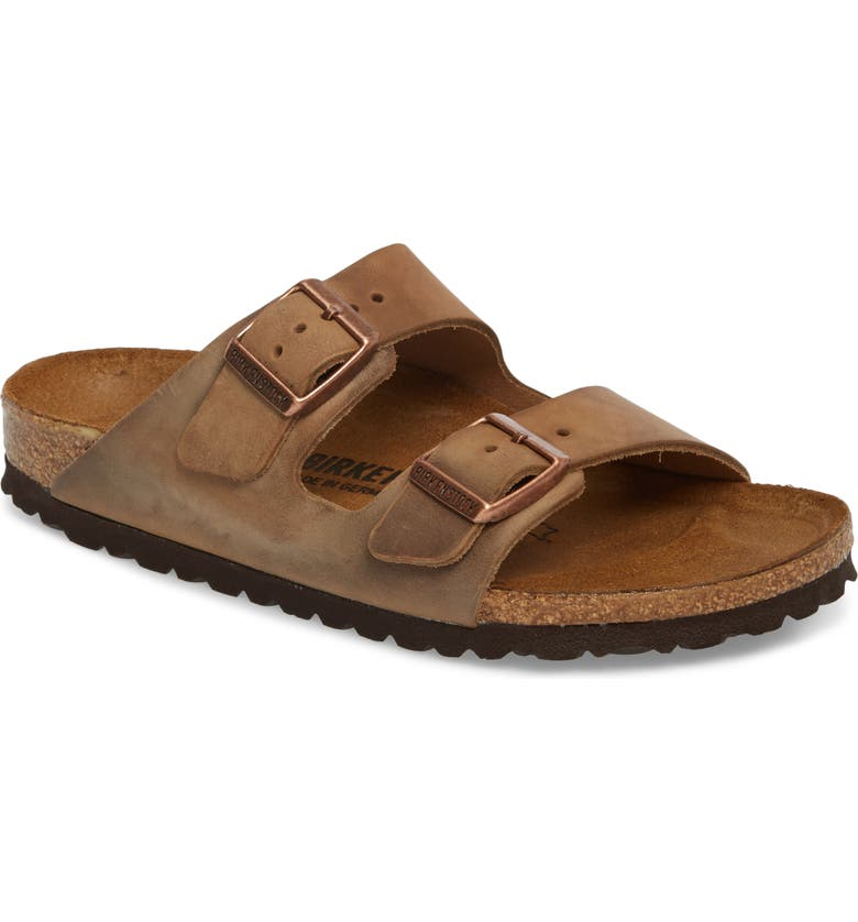 BIRKENSTOCK Arizona Sandal, Main, color, TOBACCO BROWN OILED
