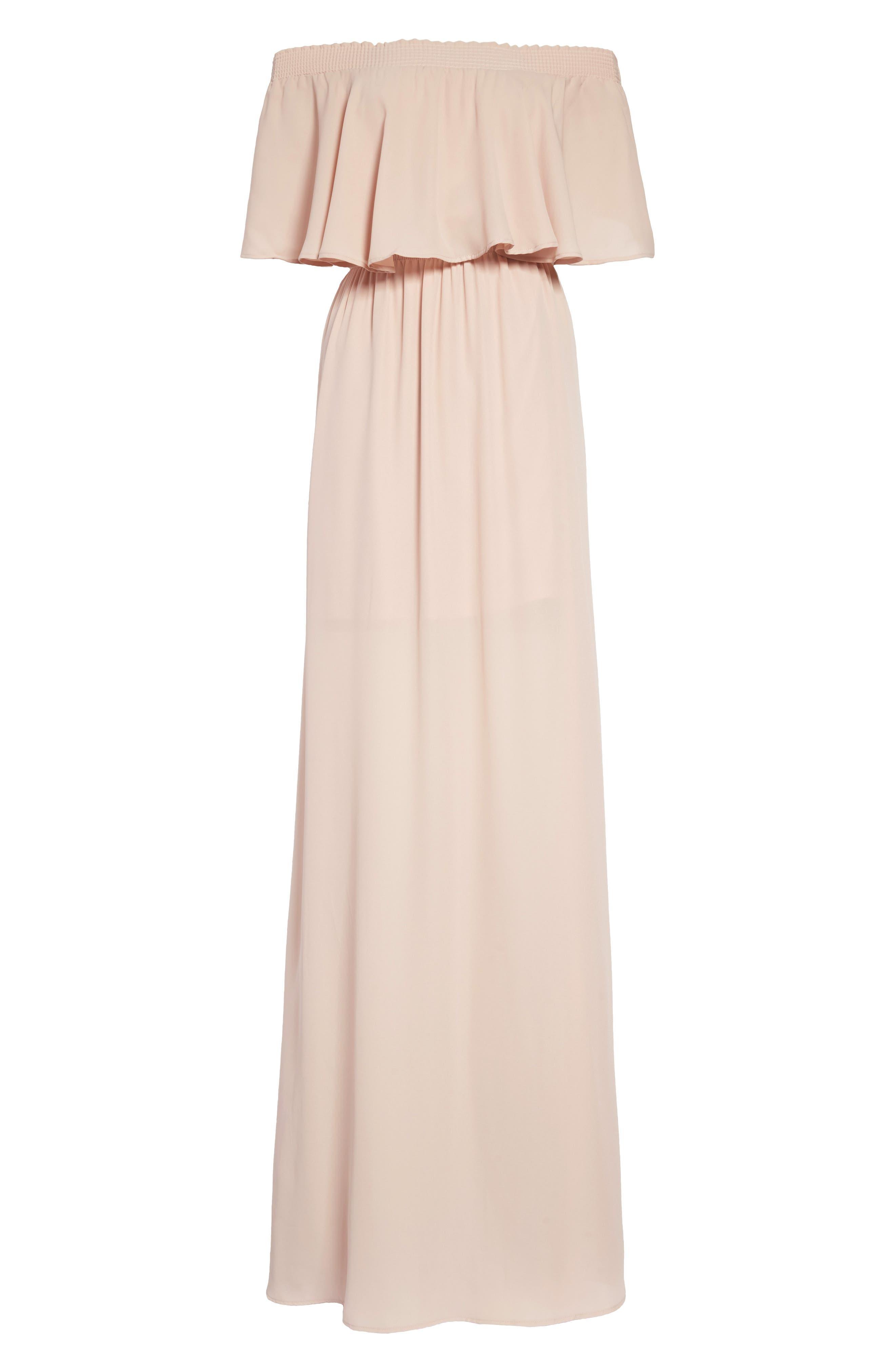 Show Me Your Mumu Hacienda Convertible Gown, Pink