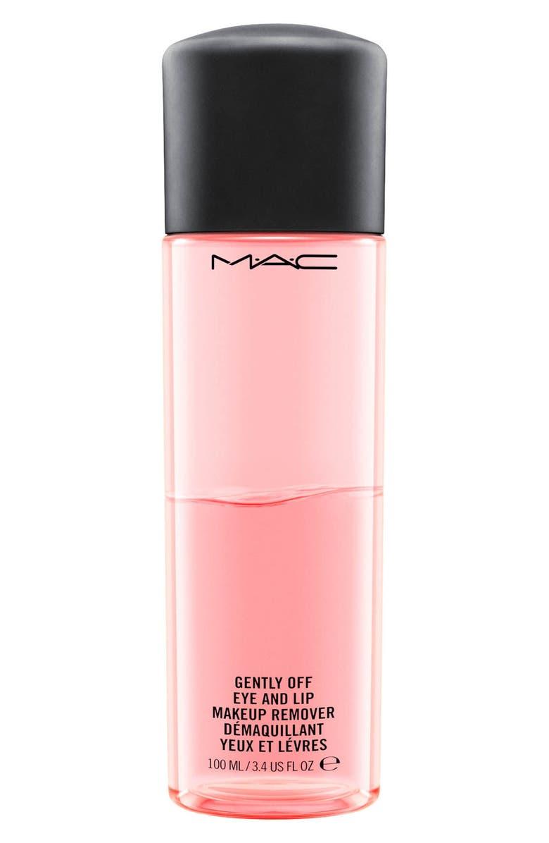 MAC COSMETICS MAC Gently Off Eye & Lip Makeup Remover, Main, color, NO COLOR