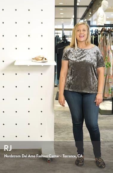 Kari Slide Sandal, sales video thumbnail