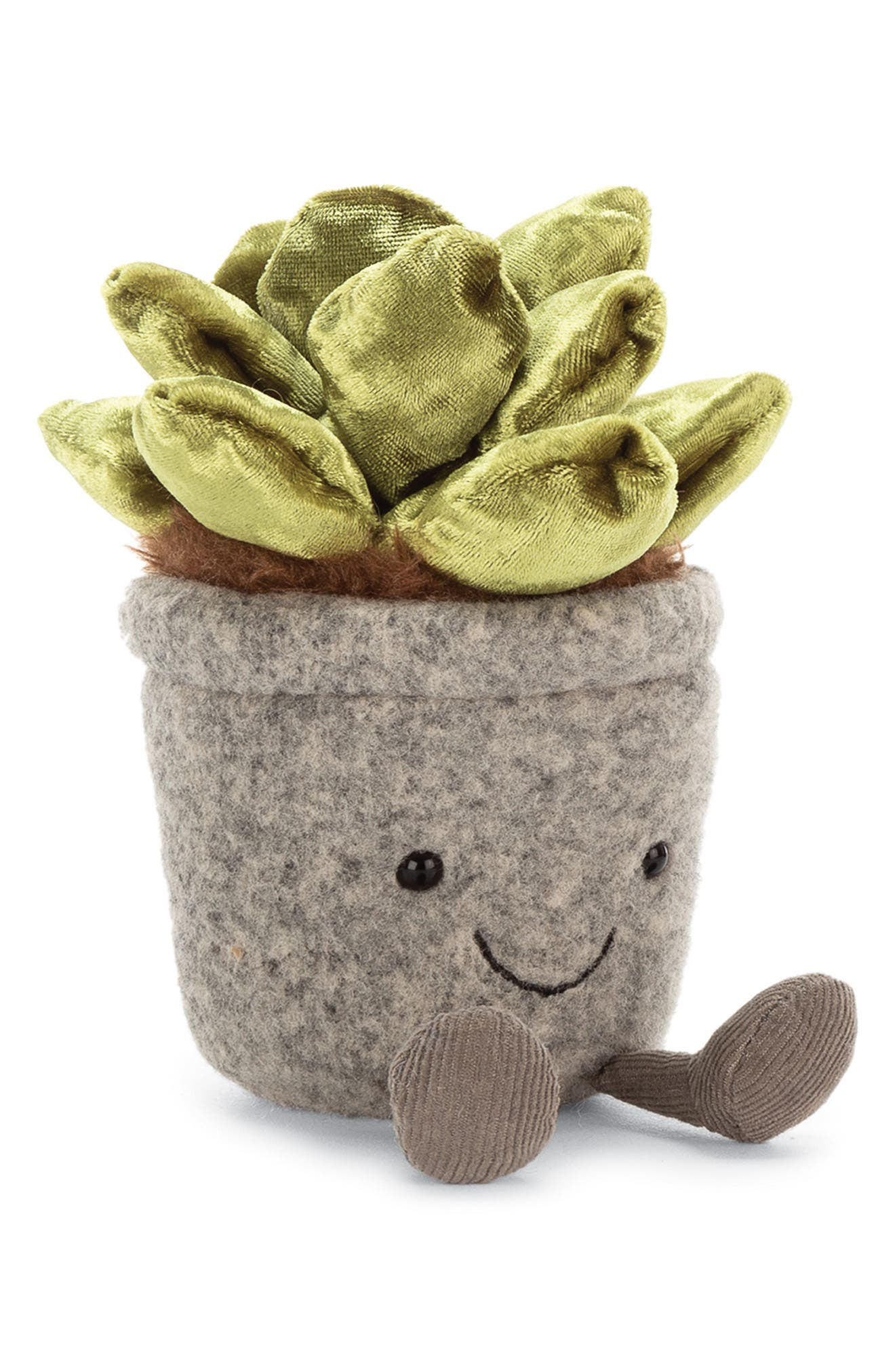 Toddler Jellycat Silly Succulent Jade Plush Toy