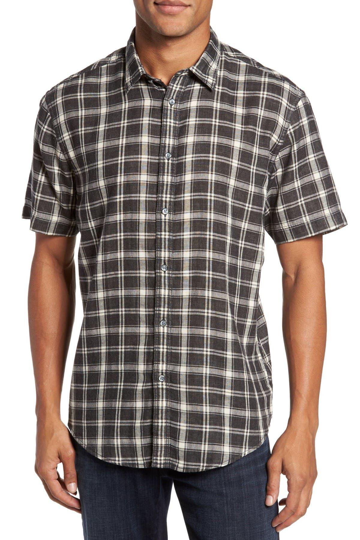 Image of COASTAORO Hansen Plaid Regular Fit Sport Shirt