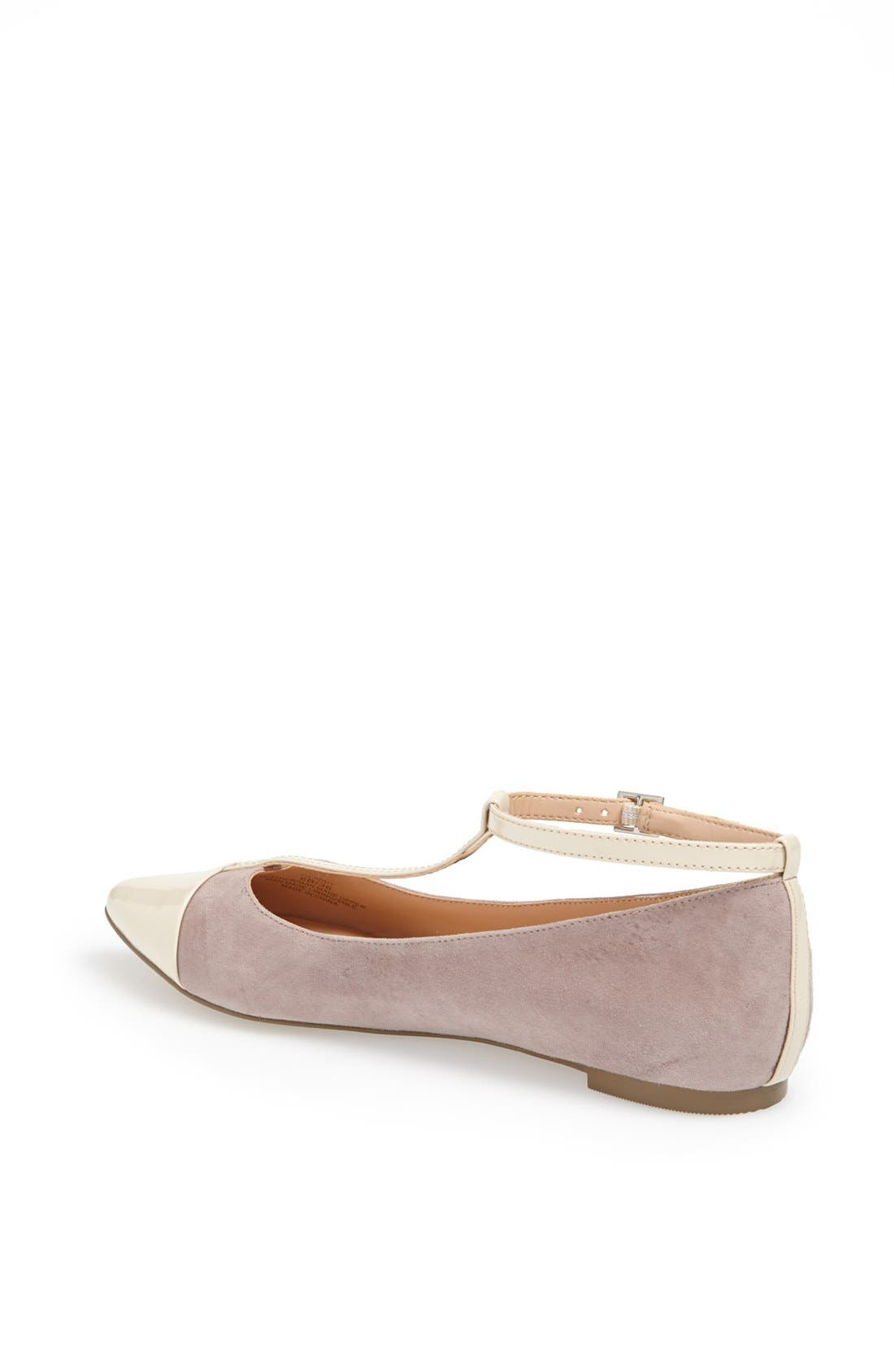 ,                             Julianne Hough for Sole Society 'Addy' Flat,                             Alternate thumbnail 8, color,                             060