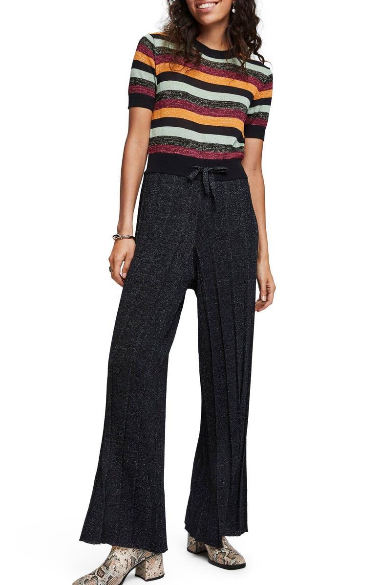 SCOTCH & SODA Metallic Jumpsuit, Main, color, 002