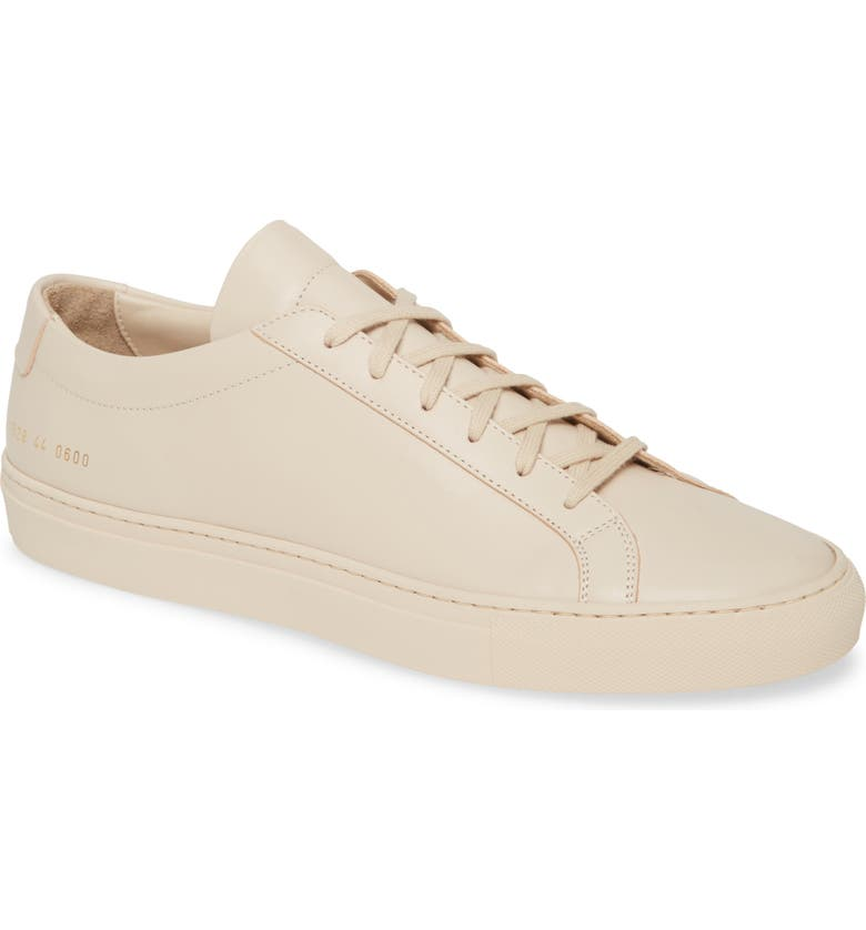 COMMON PROJECTS Original Achilles Sneaker, Main, color, NUDE