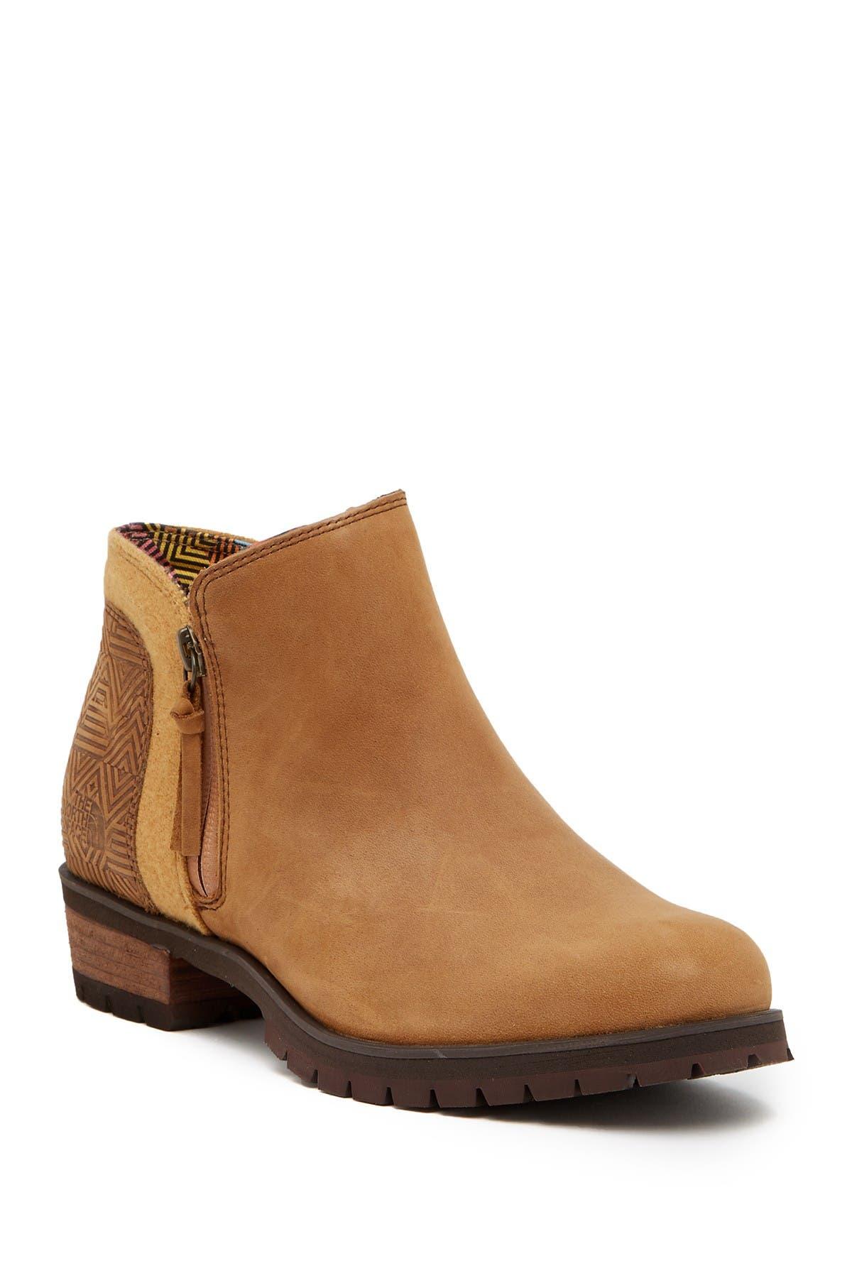Bridget Waterproof Ankle Leather Bootie