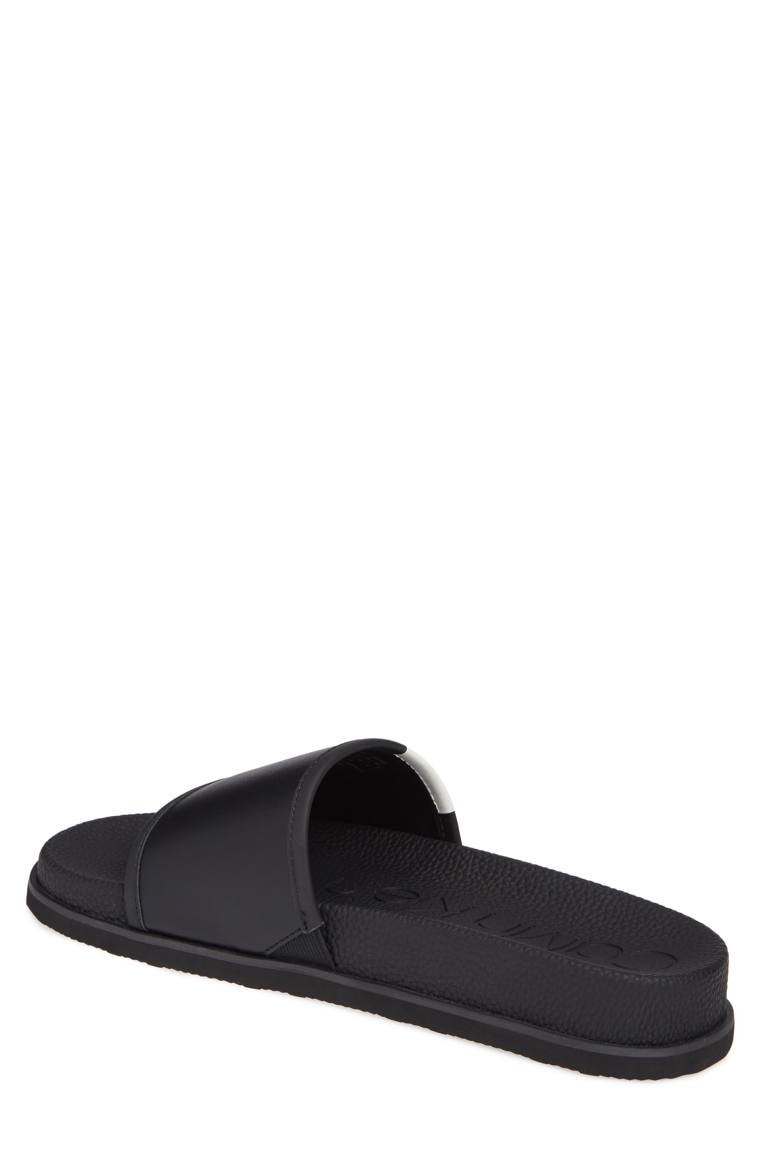 ,                             Mackee Slide Sandal,                             Alternate thumbnail 2, color,                             BLACK