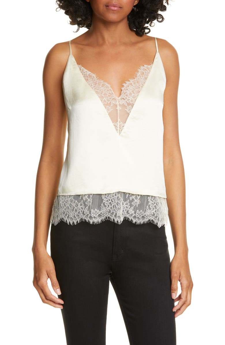 The Shay Silk Camisole by Cami Nyc