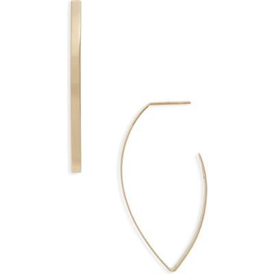 Lana Jewelry Blake Marquise Hoop Earrings