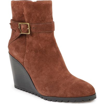 Splendid Pascal Wedge Bootie- Burgundy