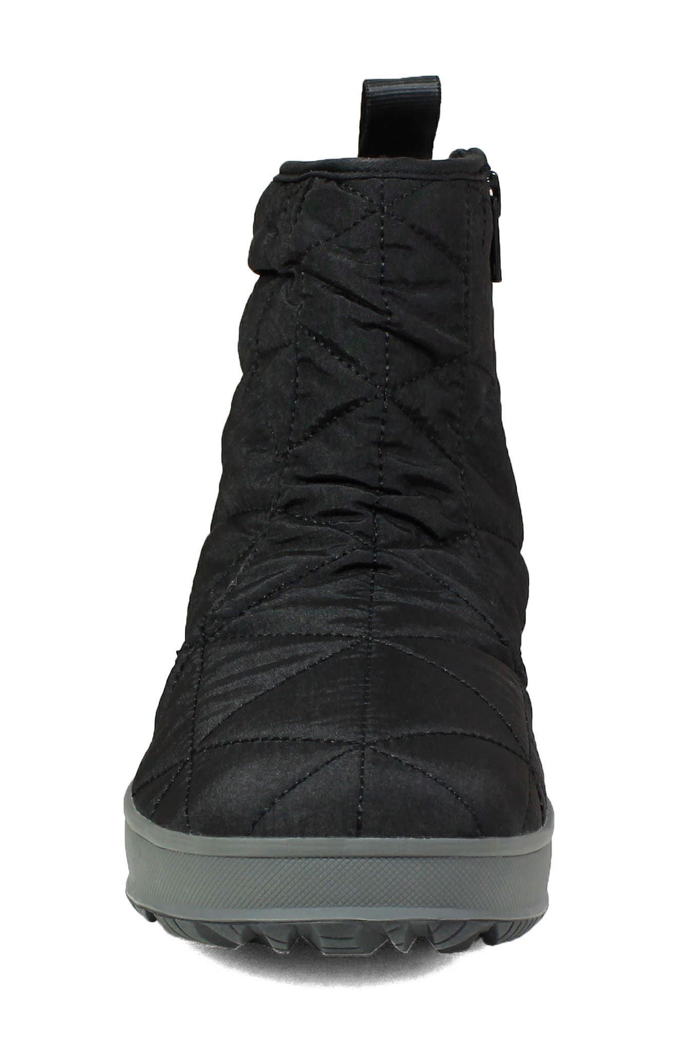 ,                             Snowday Waterproof Quilted Snow Boot,                             Alternate thumbnail 4, color,                             001