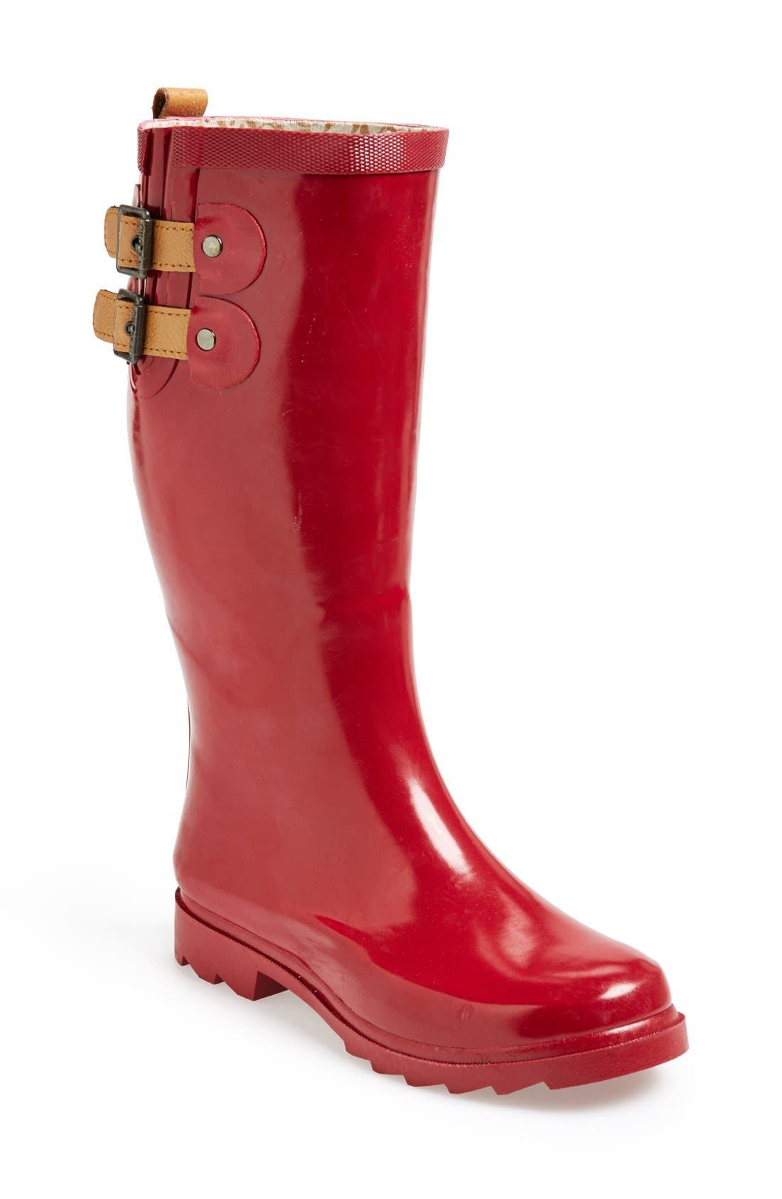,                             'Top Solid' Rain Boot,                             Main thumbnail 109, color,                             600