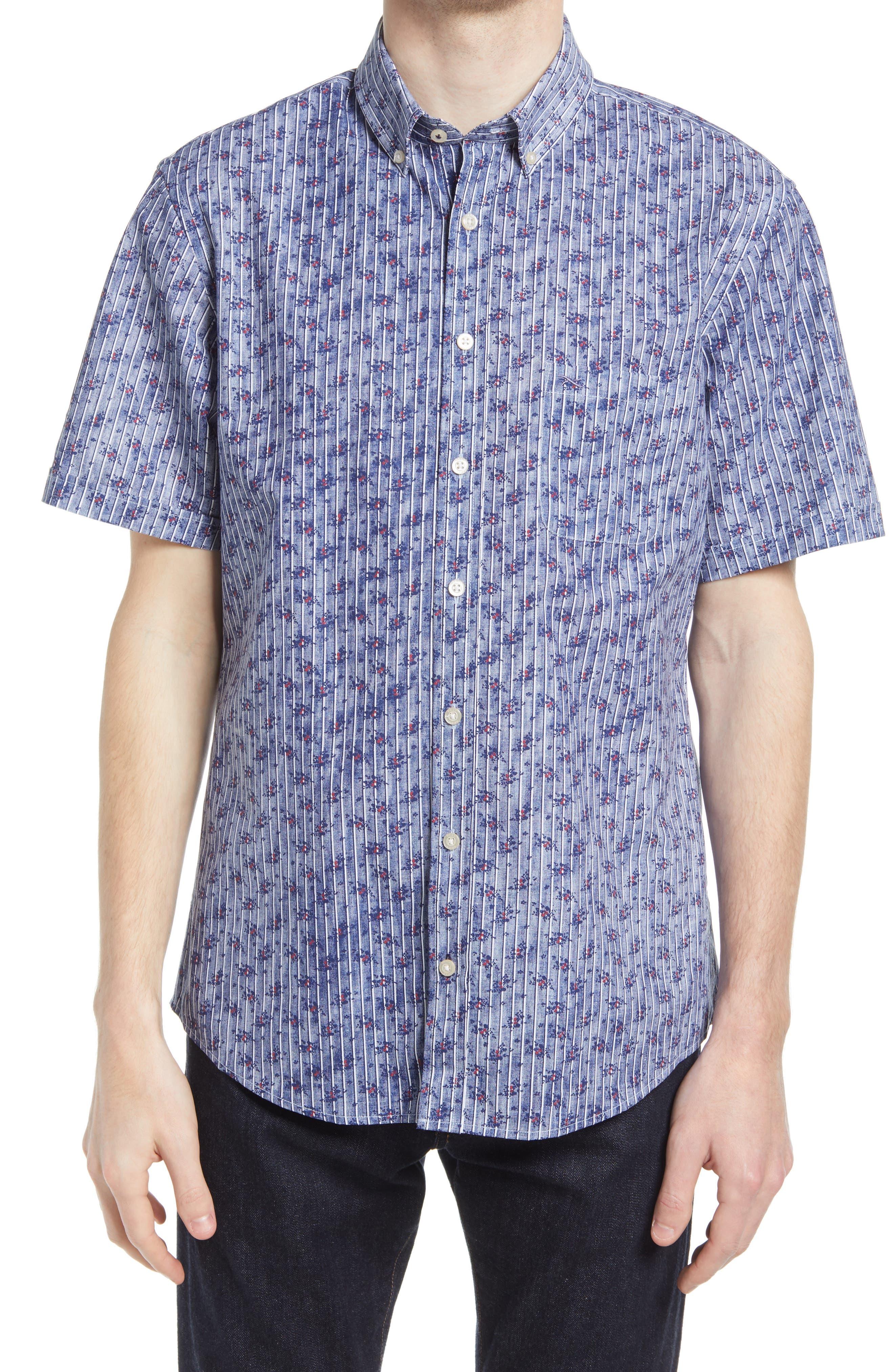 Dan Short Sleeve Button-Down Shirt