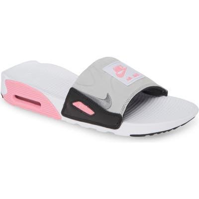 Nike Air Max 90 Sport Slide, White