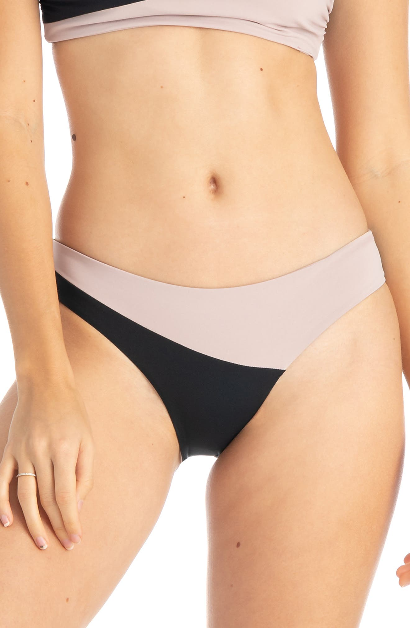 Tavik Jaclyn Bikini Bottoms, Black