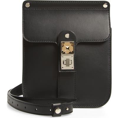 Proenza Schouler Ps11 Box Leather Crossbody Bag - Black