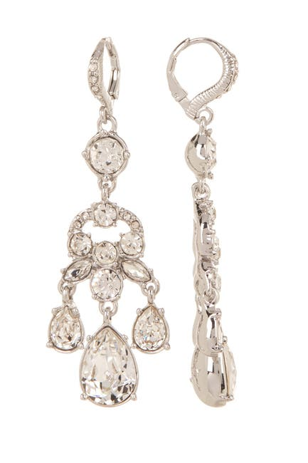 Image of Givenchy Crystal Chandelier Earrings