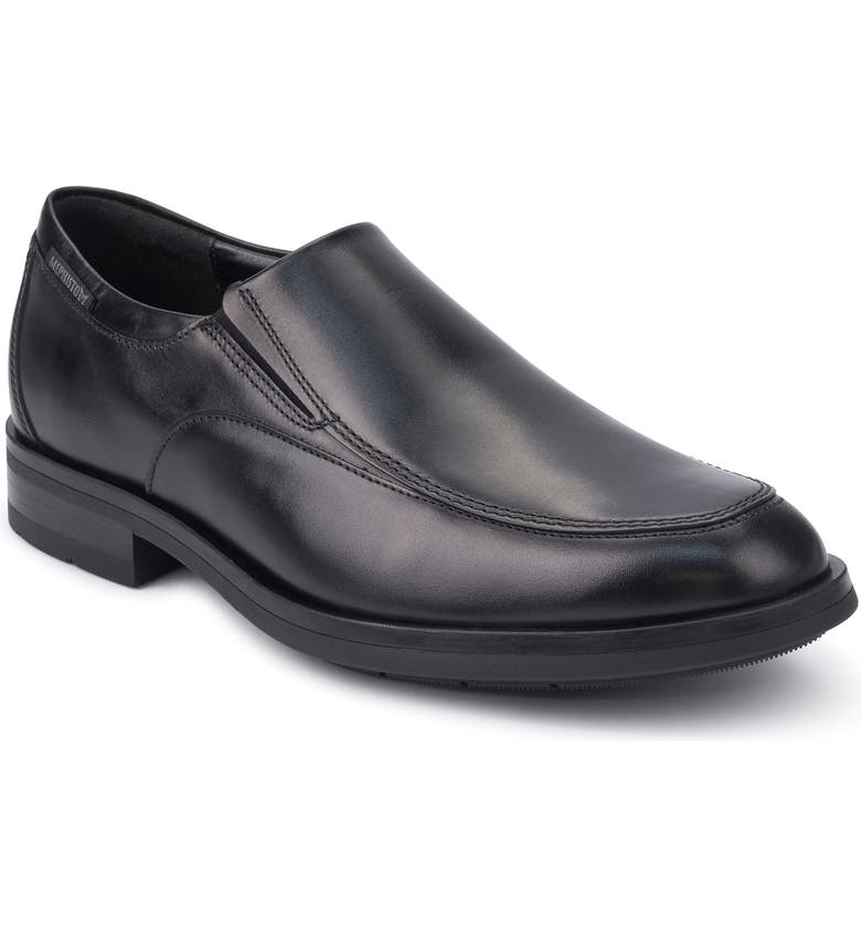 MEPHISTO Salvatore Venetian Loafer, Main, color, BLACK LEATHER
