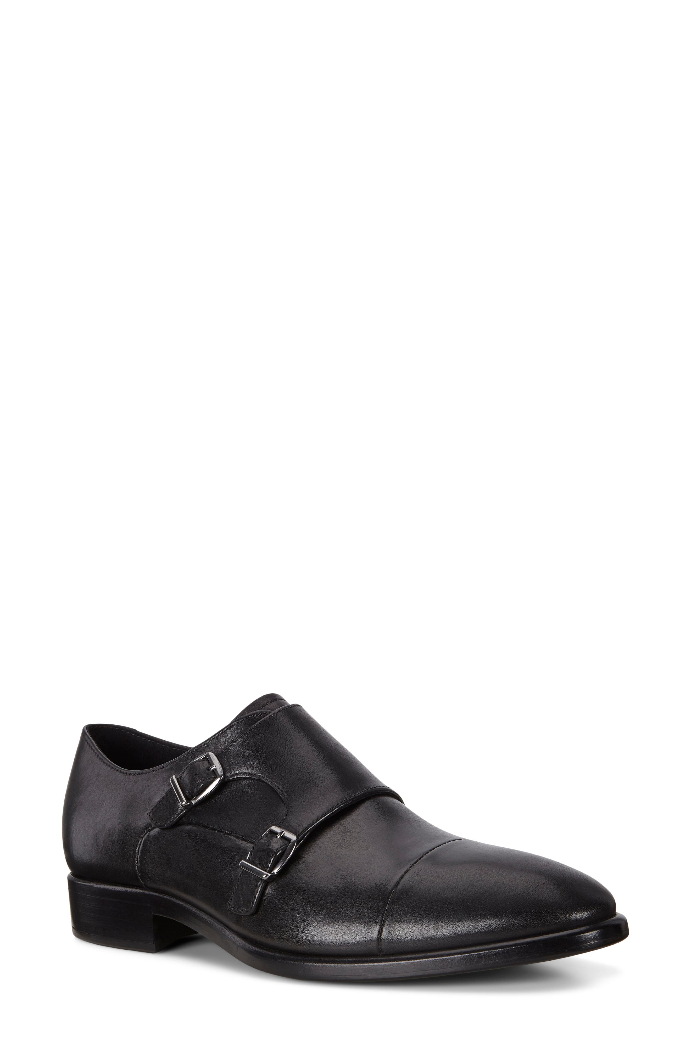 Men's Ecco Vitrus Mondial Double Monk Strap Shoe