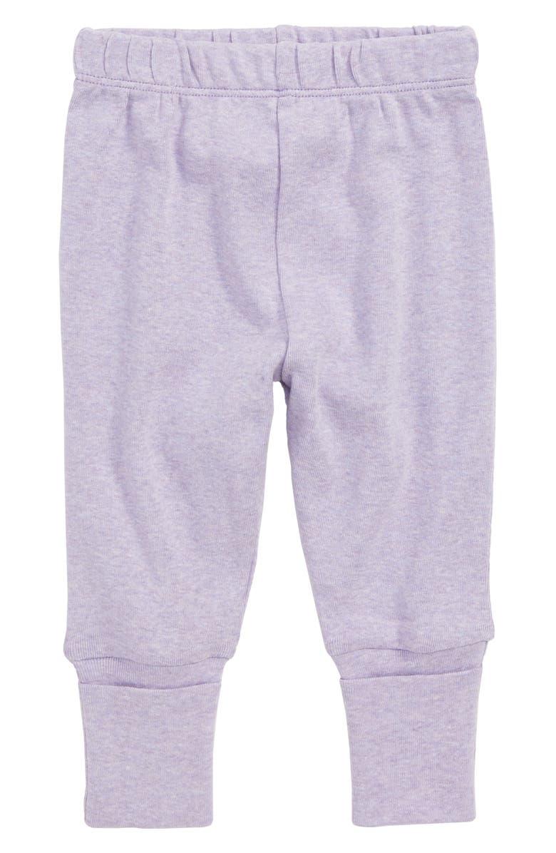MONICA + ANDY Hello Baby Organic Cotton Jogger Pants, Main, color, 500