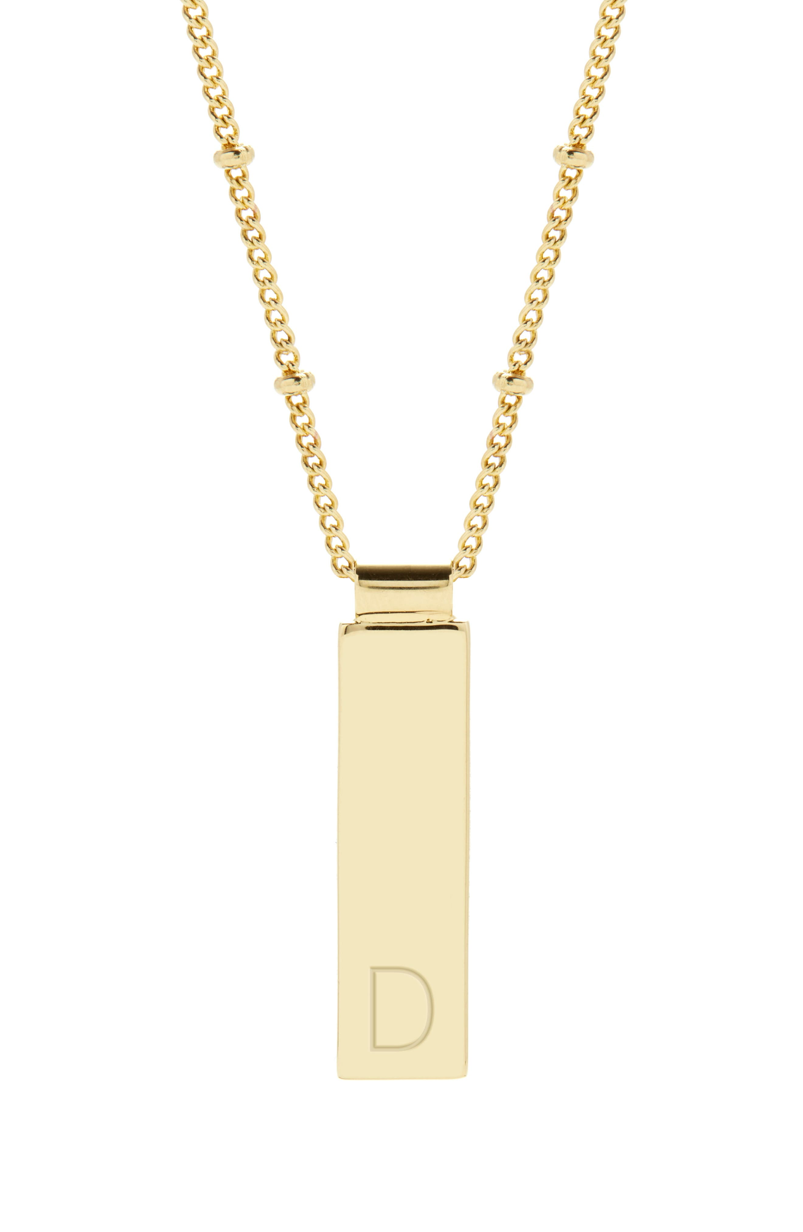 Maisie Initial Pendant Necklace