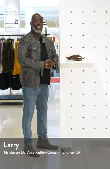 'Nui' Leather Flip Flop, sales video thumbnail