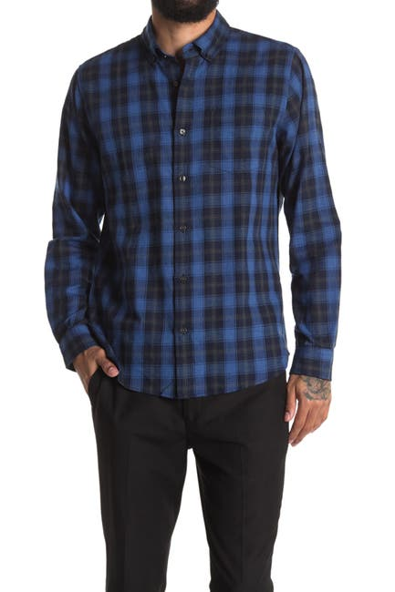 Image of Slate & Stone Plaid Regular Fit Flannel Shirt