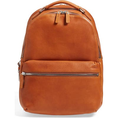 Shinola Runwell Leather Laptop Backpack -