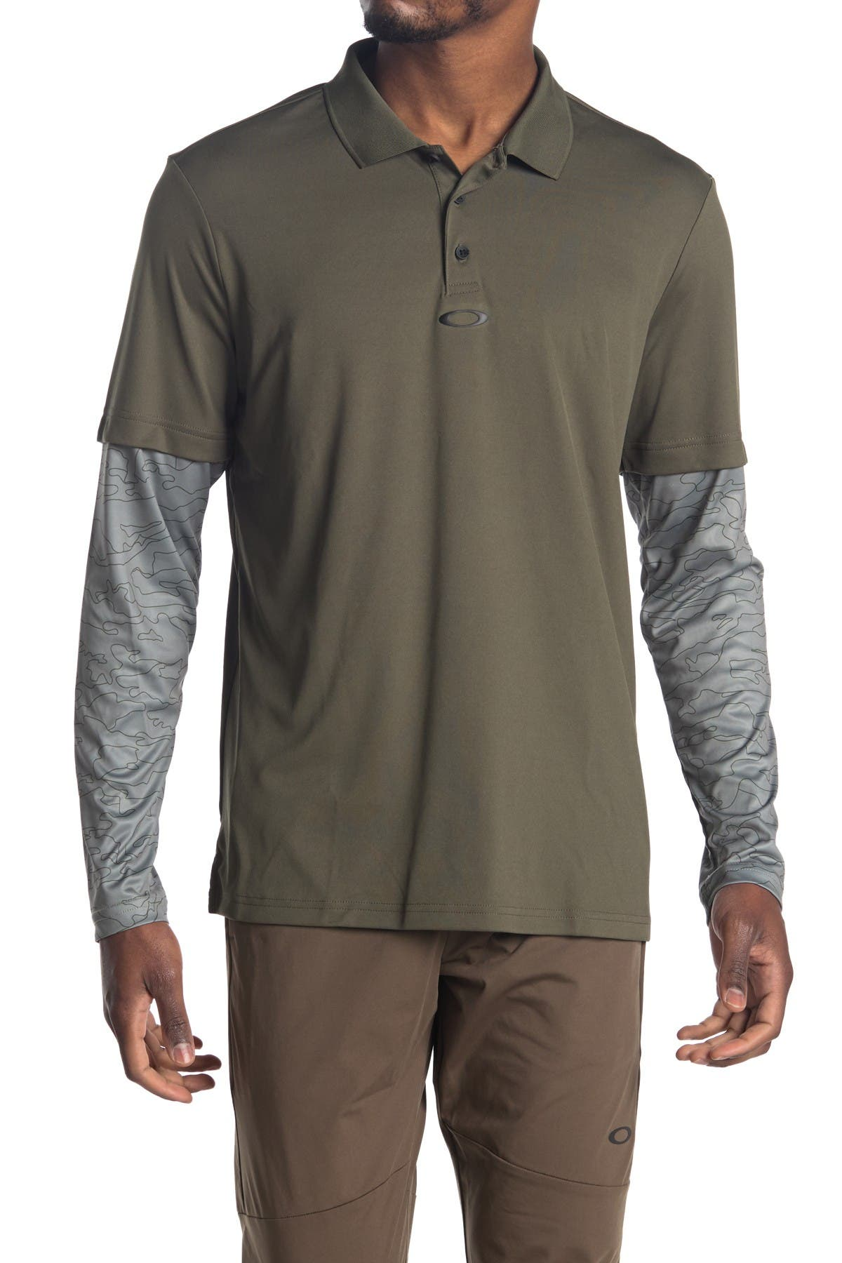Image of Oakley Long Sleeve Polo