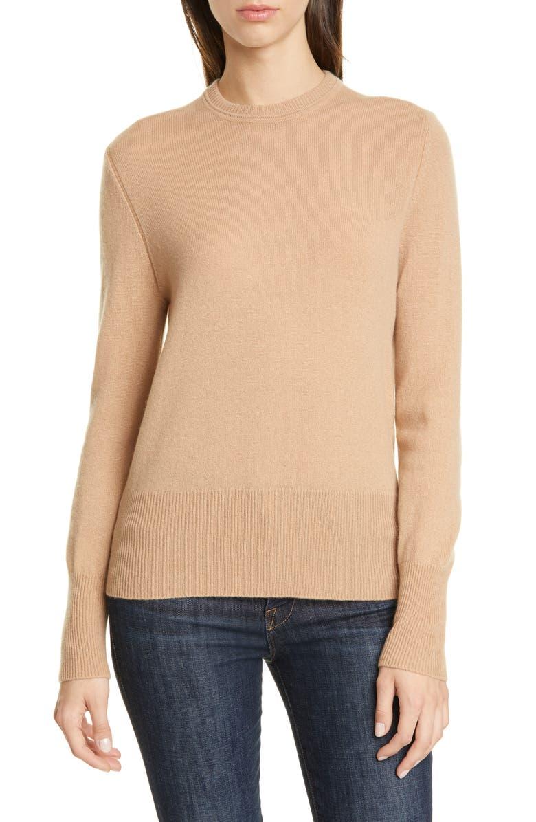 EQUIPMENT Sanni Cashmere Sweater, Main, color, CAMEL