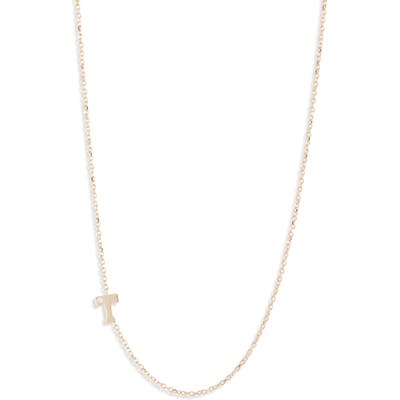 Anzie Diamond Initial Necklace