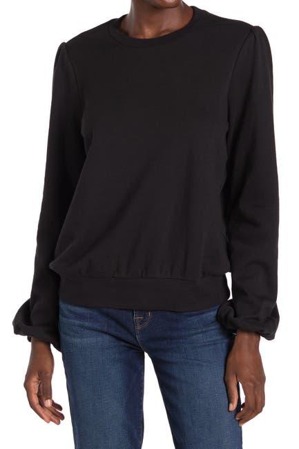 Image of Joe's Jeans The Bouffant Sleeve Pullover Sweatshirt