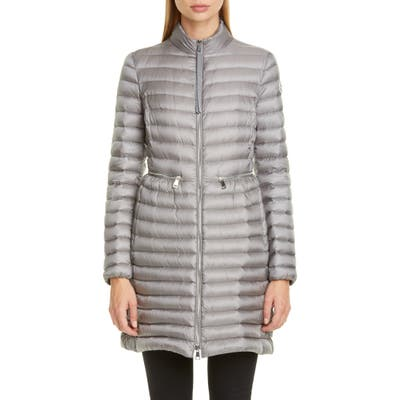 Moncler Agatelon Lightweight Down Quilted Jacket, 0 (fits like 00-0 US) - Grey