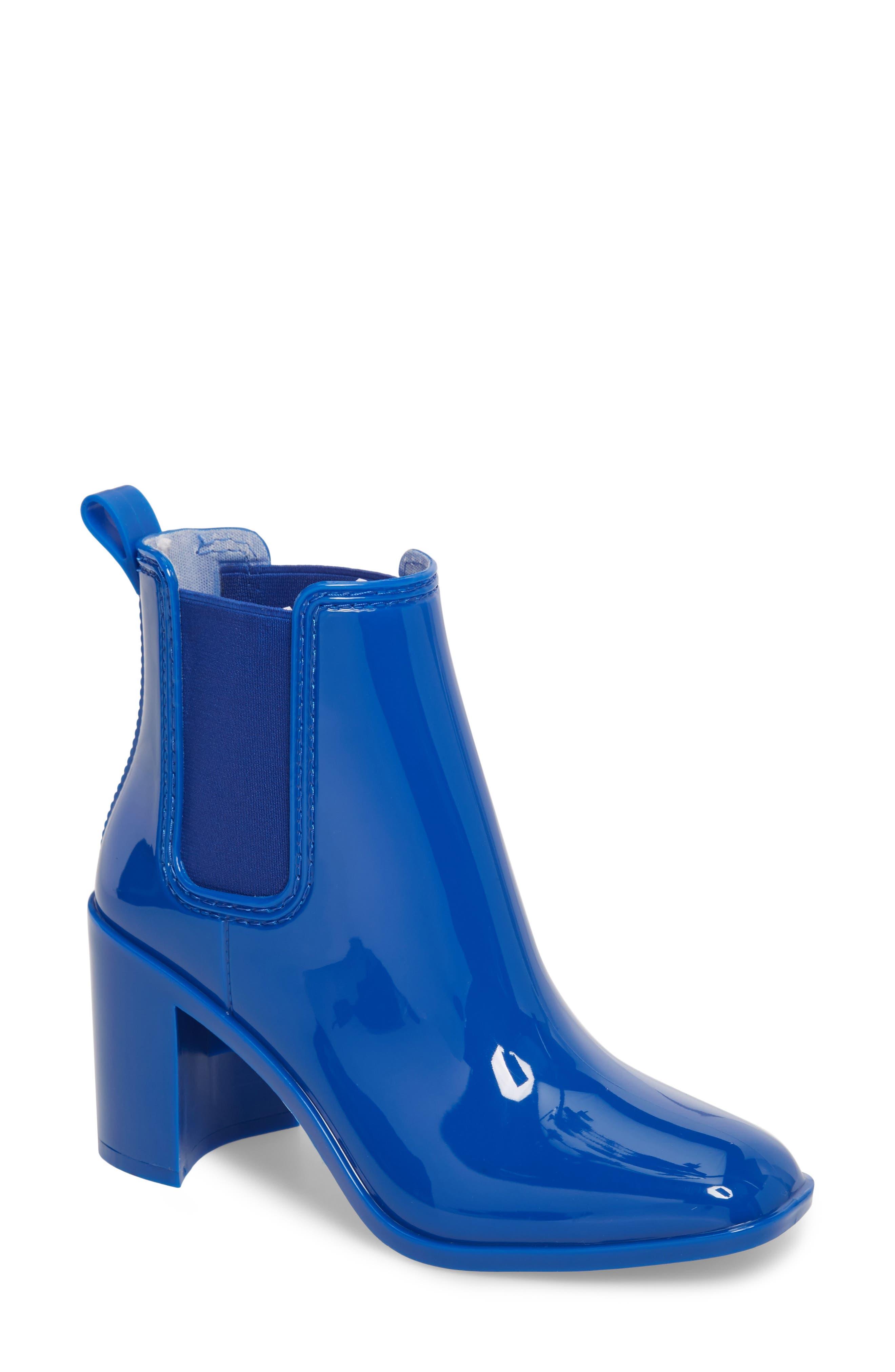 Jeffrey Campbell Hurricane Waterproof Boot, Blue