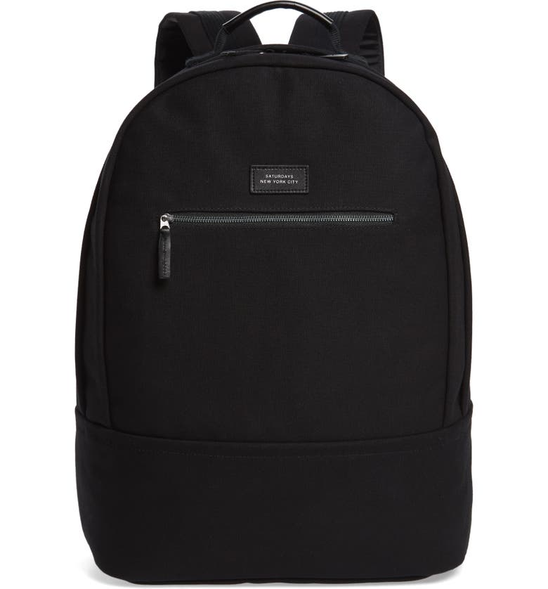 SATURDAYS NYC Hannes Water Repellent Backpack, Main, color, 001