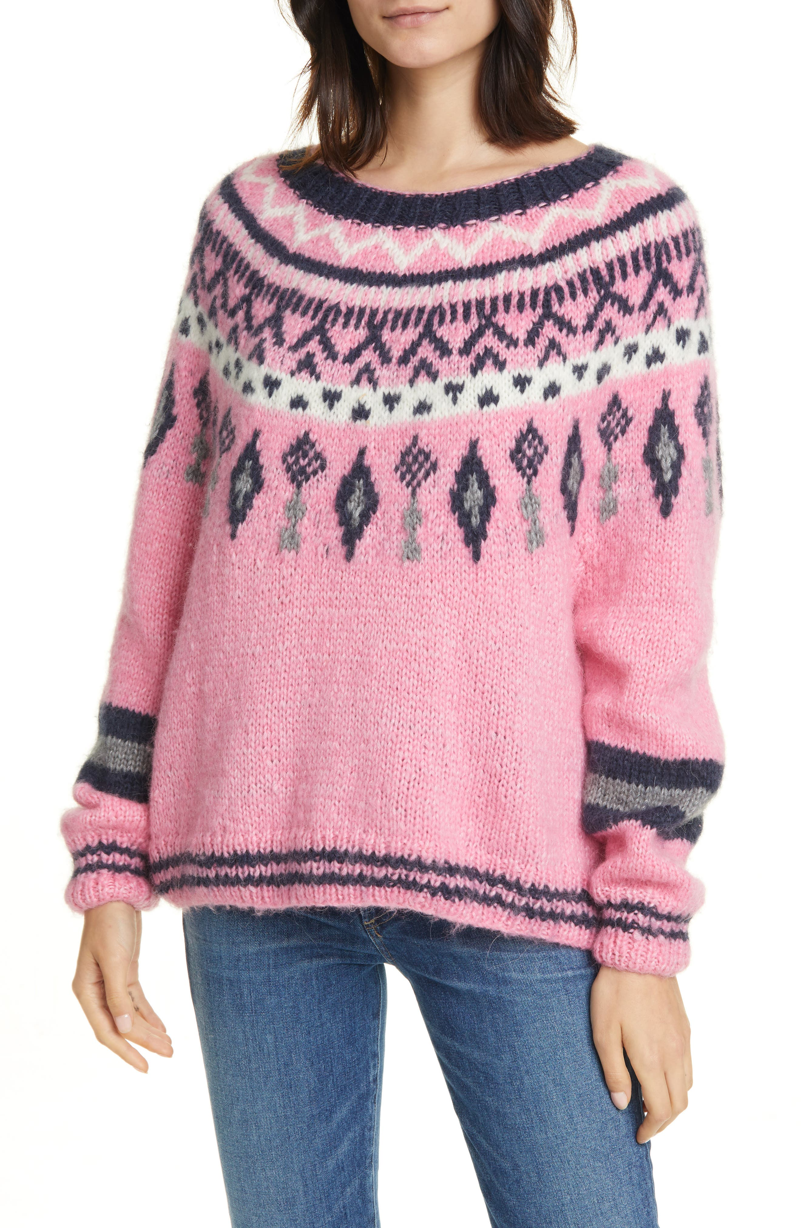 Image of Line Helga Wool Blend Sweater