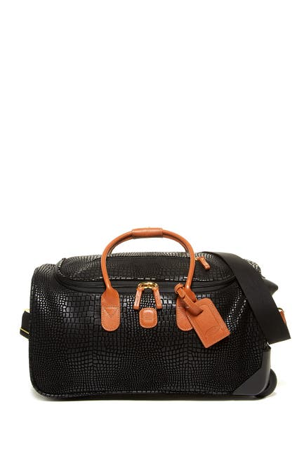 Bric's Luggage X-Travel Embossed Trolley