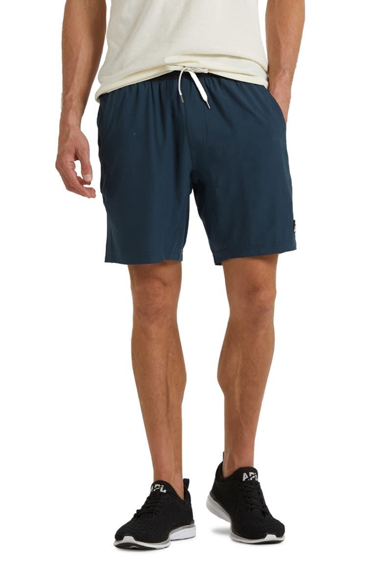 VUORI Kore Shorts, Main, color, INDIGO
