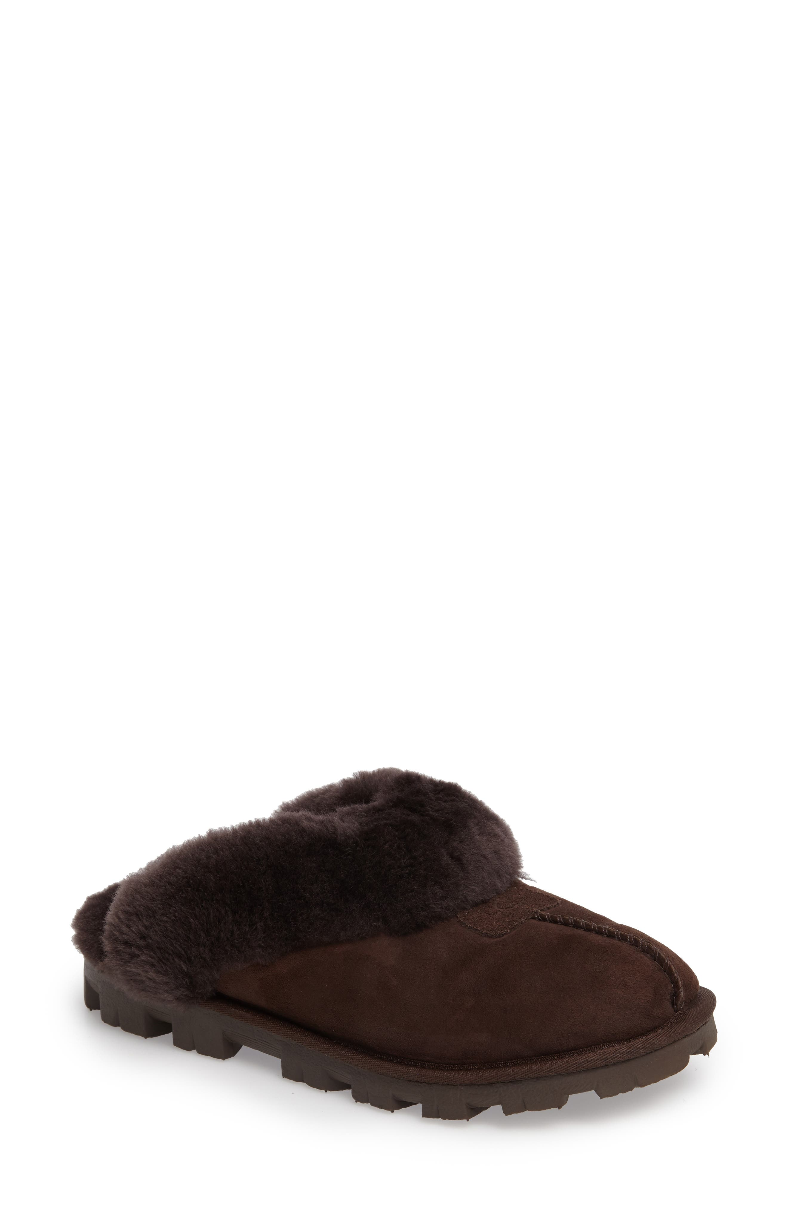 ,                             Genuine Shearling Slipper,                             Main thumbnail 164, color,                             CHO