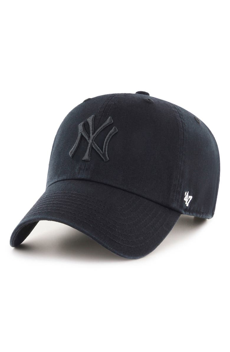 '47 Clean Up NY Yankees Baseball Cap, Main, color, 002