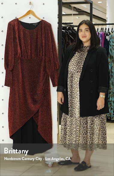 Long Sleeve Sparkle Maxi Dress, sales video thumbnail