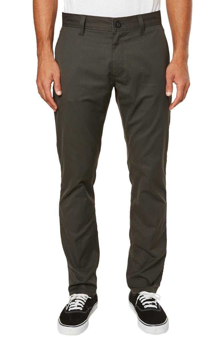 O'NEILL Redlands Hybrid Pants, Main, color, GRAPHITE